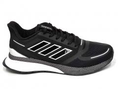 Adidas Cloudfoam Comfort Black/White B66