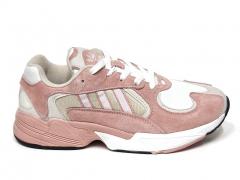 Adidas Yung 1 Pink/Beige/White B66