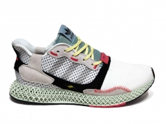 Adidas ZX 4000 4D White/Grey/Linen Green B66