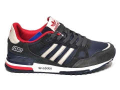 Adidas ZX 750 Dark Grey/Navy/White/Red B66