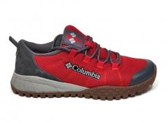 Columbia Men's Shoe Red/Grey/Gum B66