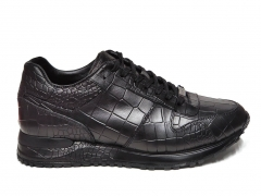 Ferazzi Sneaker Snake Leather Black FRZ017 B66