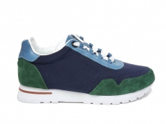 Loro Piana Sneakers Wind Navy/Green/Blue B66