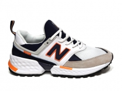 New Balance 574 Sport V2 White/Navy/Orange B66