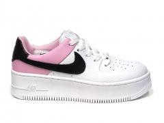 Nike Air Force 1 Low Sage White/Pink/Black B66