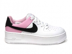Nike Air Force 1 Low Sage White/Pink/Black B66