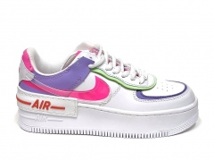 Nike Air Force 1 Low Shadow White/Pink/Purple B66