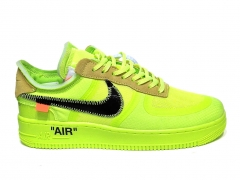 Nike Air Force 1 Low x Off-White Volt B66