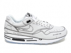 Nike Air Max 1 'Sketch To Shelf' White/Black B66
