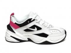 Nike M2k Tekno White/Black/Pink B66