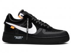 Nike Air Force x Off-White Black/White B66