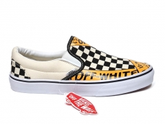 Vans Slip On x Off-White White/Black/Yellow B66