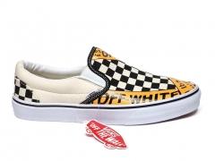 Vans Slip On x Off-White White/Black/Yellow B66