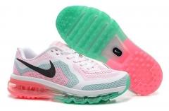 Nike Air Max 2014 white/green/pink