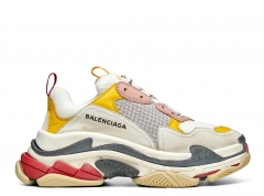 Balenciaga Triple S Cream/Yellow/Red