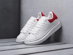 Alexander McQueen Sneaker White/Red 2931