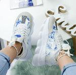 Versace Chain Reaction White/Blue