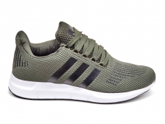 Adidas Swift Run Olive/Black/White B66