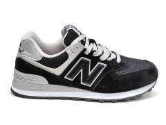 New Balance 574 Black/White/Grey B66