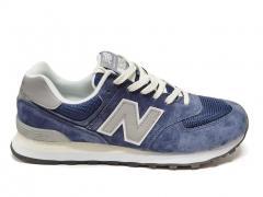New Balance 574 Blue/Grey/Beige B66