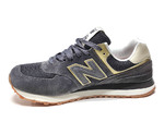 New Balance 574 Grey/Gold B66