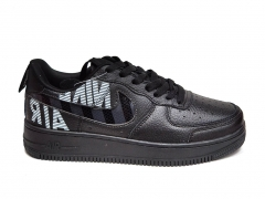 Nike Air Force 1 Low Under Construction Black/White B66
