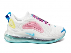 Nike Air Max 720 White/Pink/Yellow B66