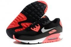 Nike Air Max 90 black/coral