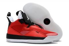 "Air Jordan 33 ""CNY"" University Red/Black/White"