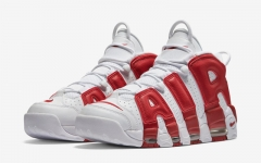 Nike Air More Uptempo Red & White