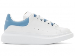 Alexander McQueen Sneaker White/Blue/Ombre Laces