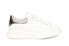 Alexander McQueen Sneaker White/Silver