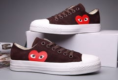 Converse x Comme Des Garsons Play Brown