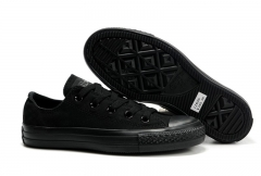 Converse Chuck Taylor All Star Low Top Mono Black 3396