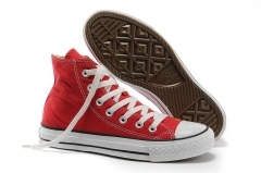 Converse Chuck Taylor All Star High Top Red/White 3386