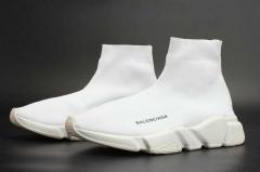 Balenciaga Speed Runner Sock Triple White