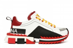 Dolce & Gabbana Super King White/Red/Yellow