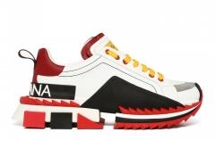 Dolce & Gabbana Super King Bianco Rosso