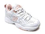 New Balance 608 Leather White/Pink B66