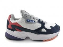 Adidas Falcon White/Navy/Red