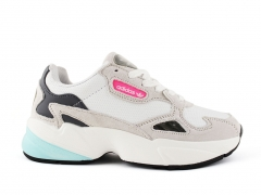 Adidas Falcon Leather White/Beige/Pink