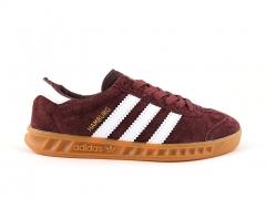 Adidas Hamburg Burgundy/White/Gum