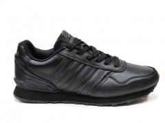 Adidas NEO Black Leather
