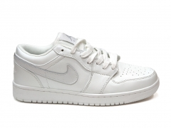 Air Jordan 1 Retro Low Triple White