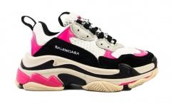 Balenciaga Triple S Black/White/Pink