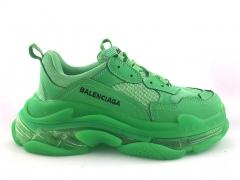 Balenciaga Triple S Clear Sole Neon Green