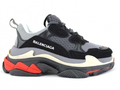 Balenciaga Triple S Grey/Black/Red