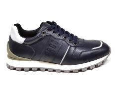 Bikkembergs Sneakers Navy Leather BKK20