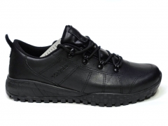 Columbia Leather Shoes Black