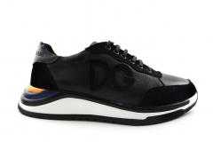 Dolce & Gabbana Sneaker Black/Yellow/Blue DG01